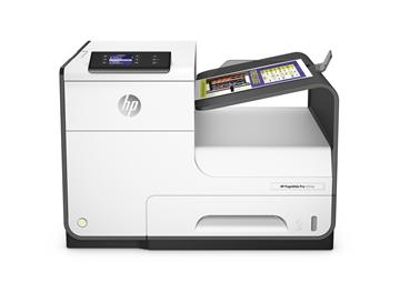 HP PageWide Pro 452dw Printer back