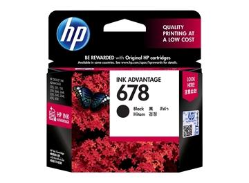 HP 678 Black Original Ink Advantage Cartridge